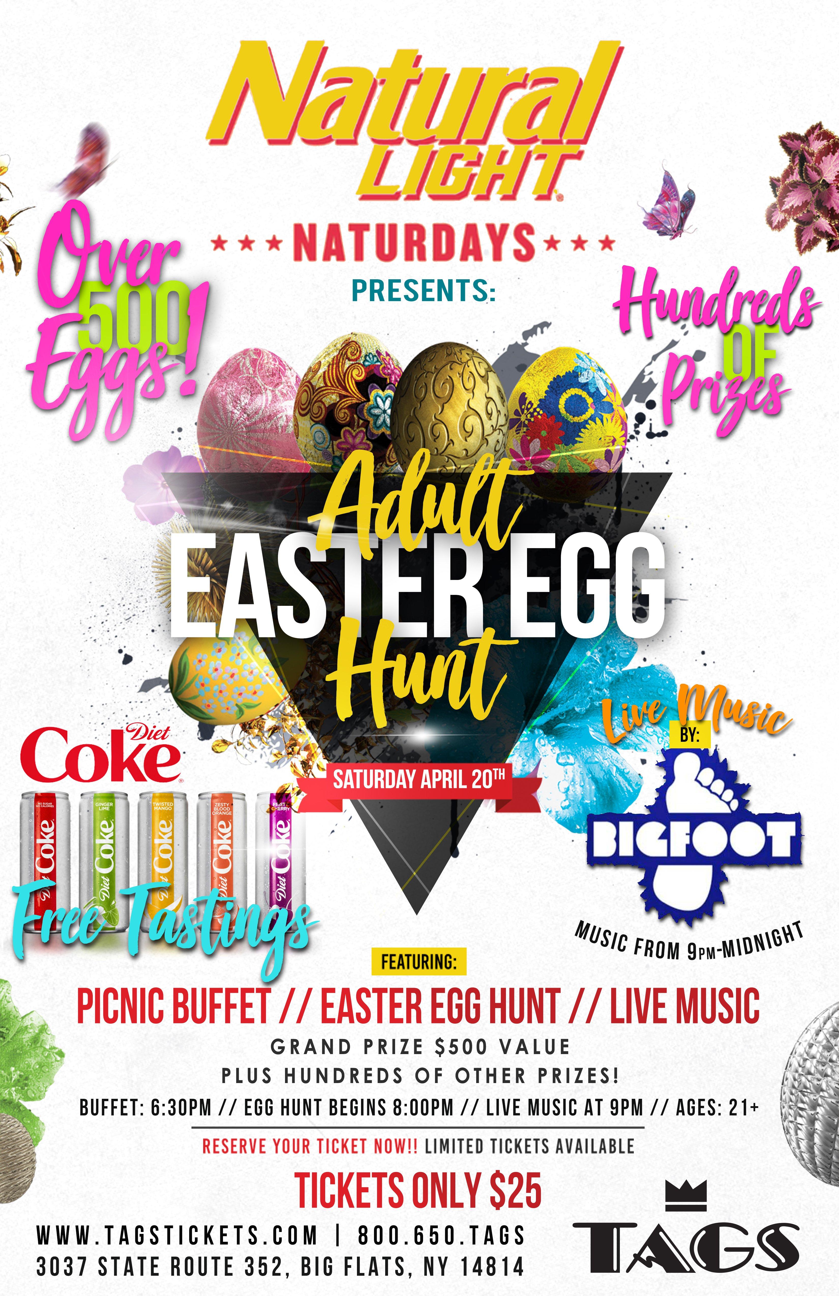 The Adult Easter Egg Hunt